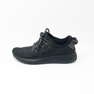 Adidas Yeezy Boost Pirate Black 2015 YZY Sz 5 1/2